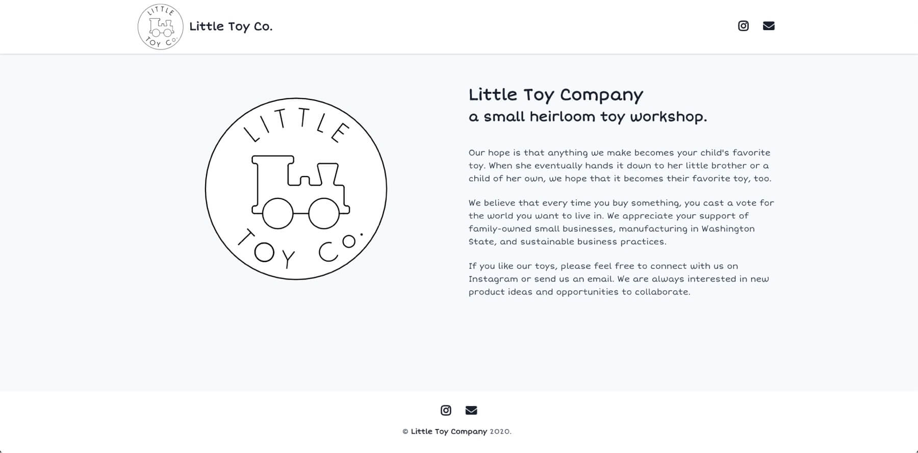 Little Toy Company cover image