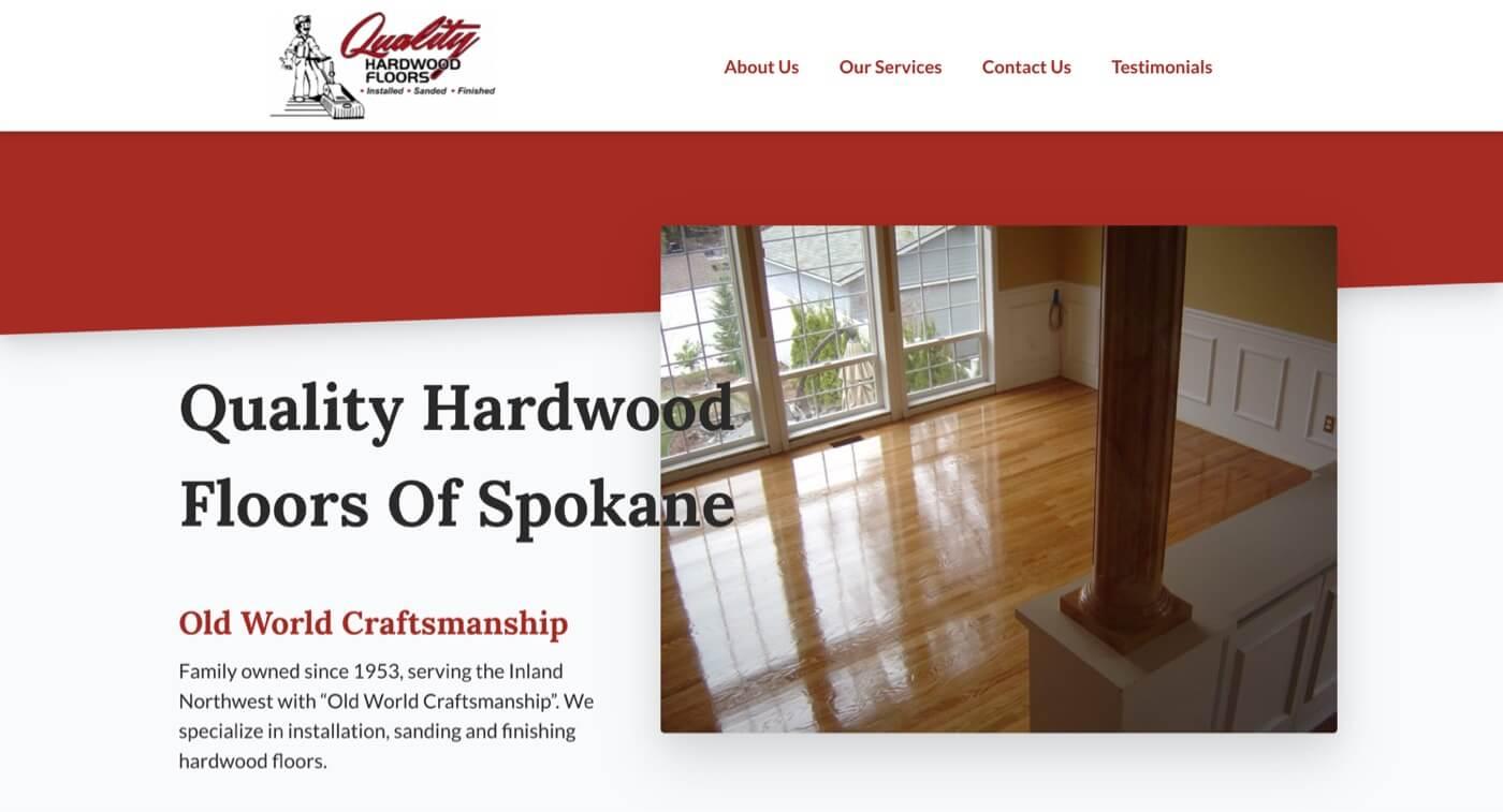 Quality Hardwood Floors cover image
