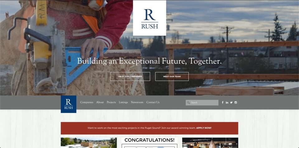 The Rush Companies cover image