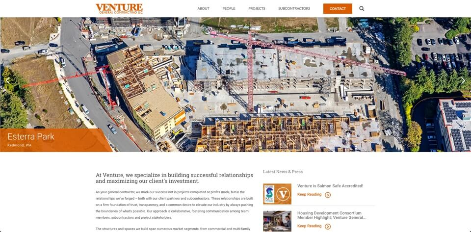 Venture General Contracting cover image